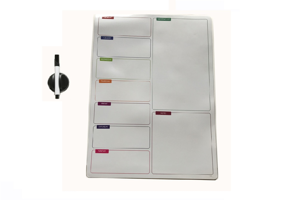 Magnetic Writing Board - shopping list