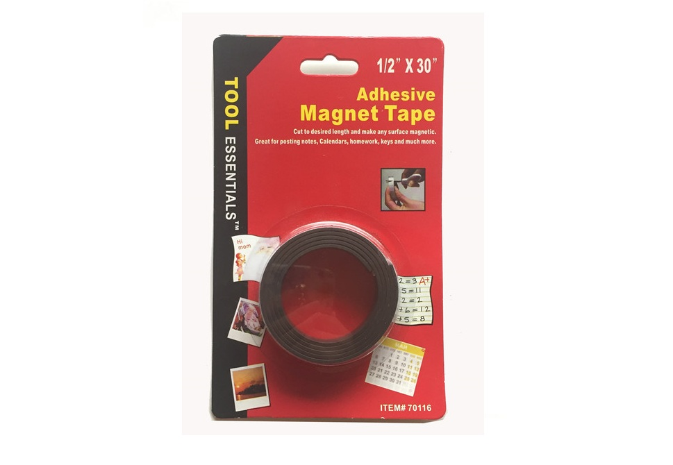 Magnetic Strip with adhesive 1/2